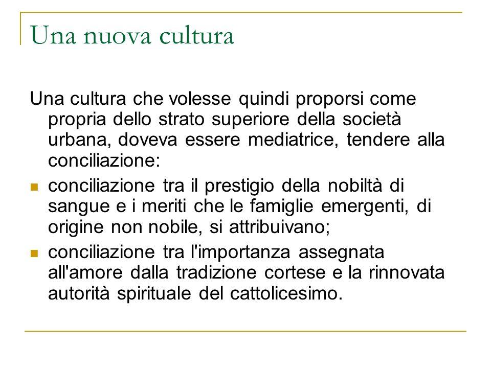 Una nuova cultura
