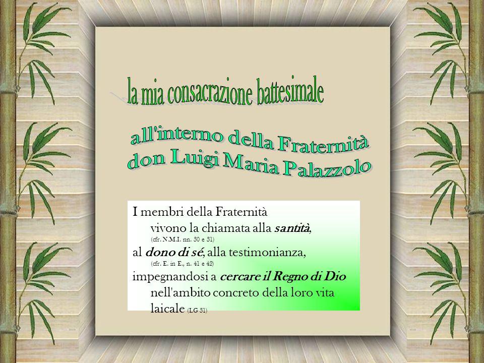 all interno della Fraternità don Luigi Maria Palazzolo