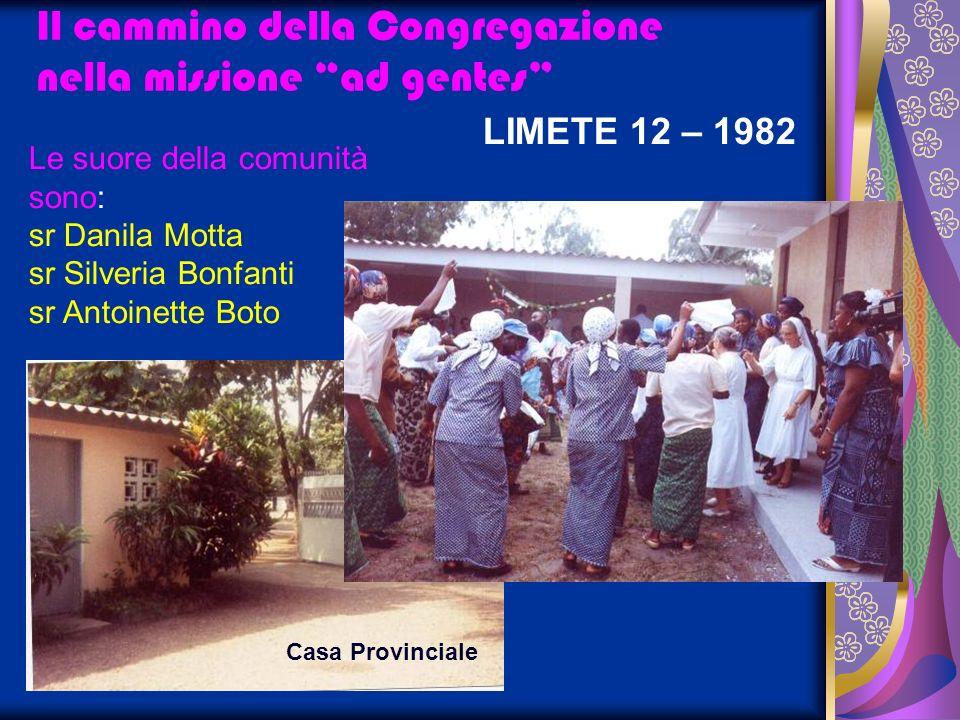 Il cammino della Congregazione nella missione ad gentes