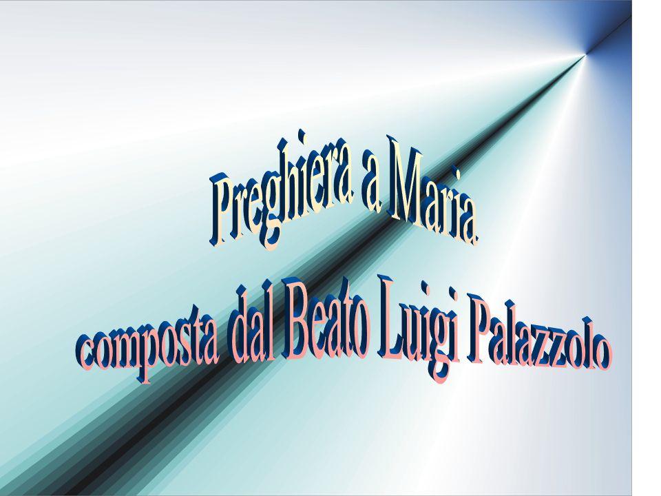 composta dal Beato Luigi Palazzolo