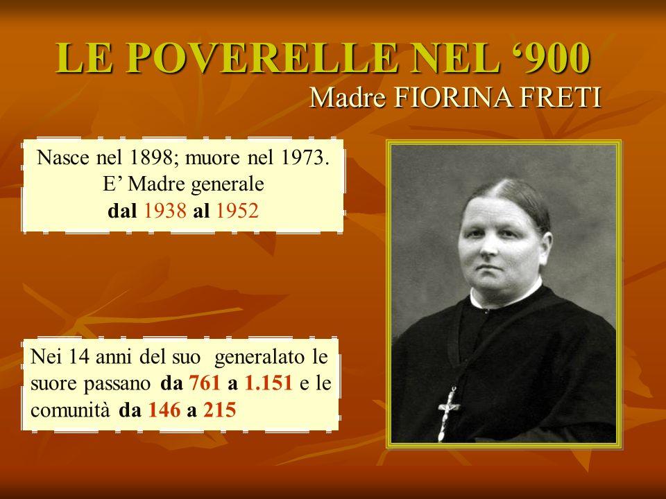 Nasce nel 1898; muore nel 1973. E' Madre generale dal 1938 al 1952