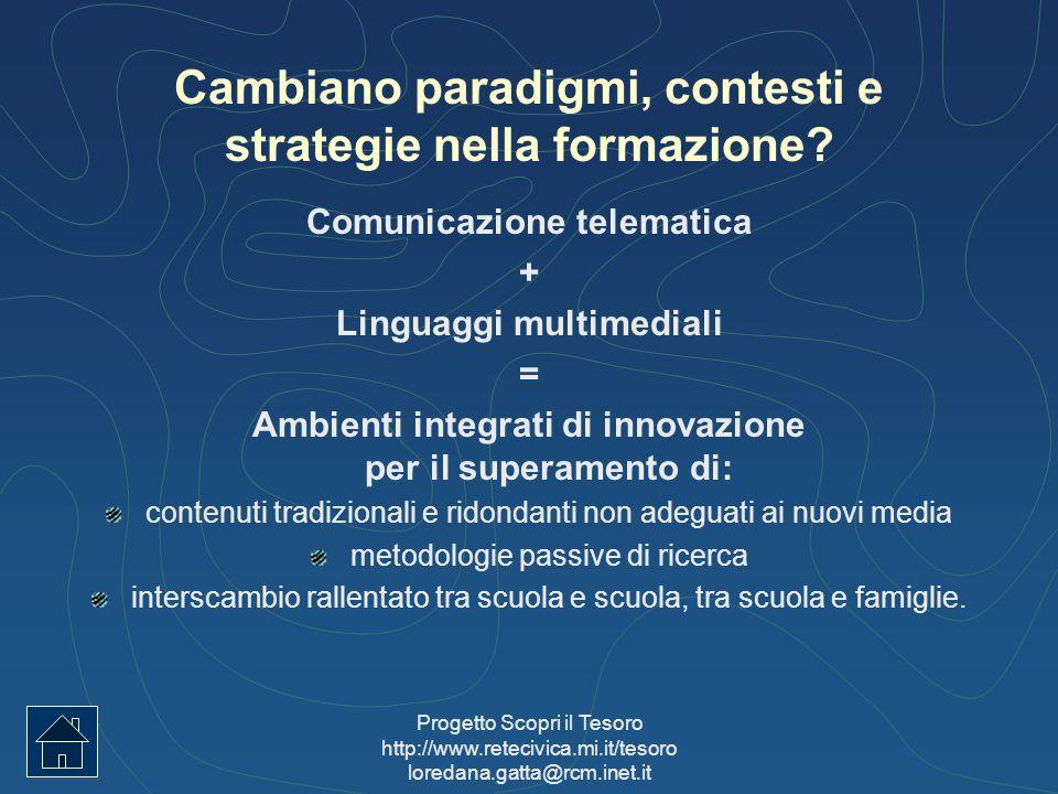 Cambiano paradigmi, contesti e strategie nella formazione