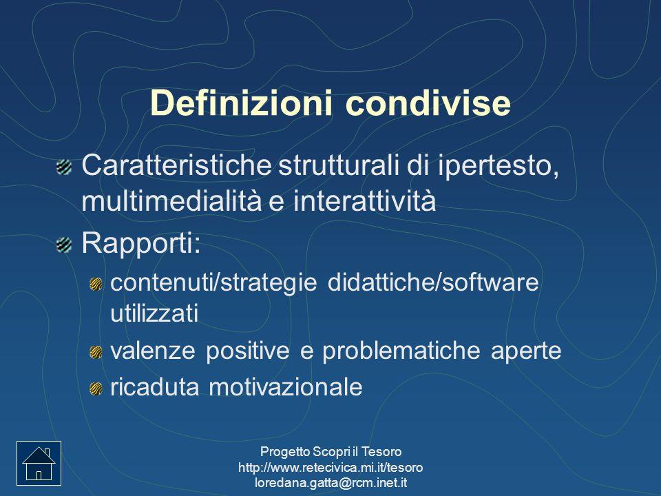 Definizioni condivise