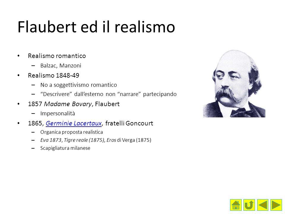 Flaubert ed il realismo