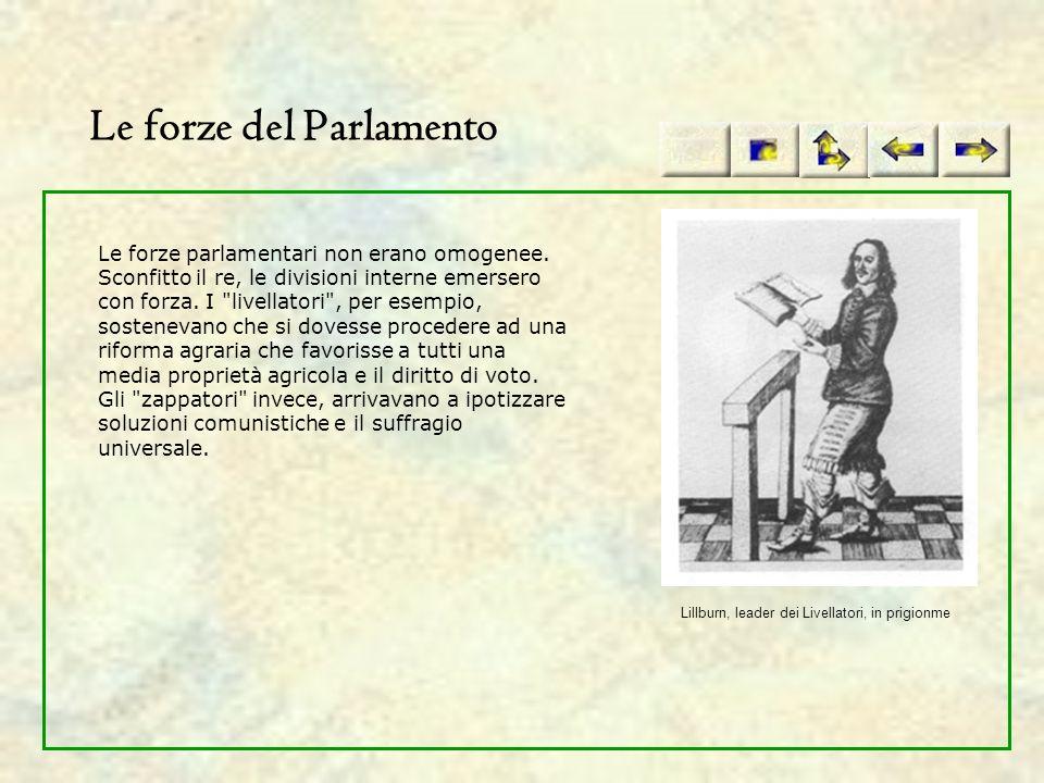 Le forze del Parlamento