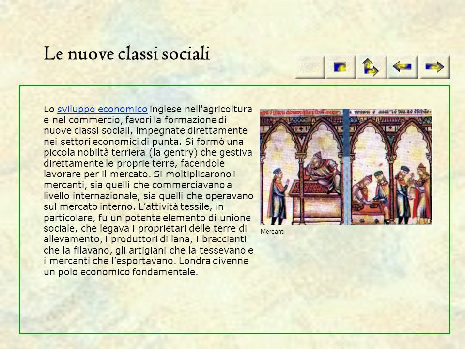 Le nuove classi sociali