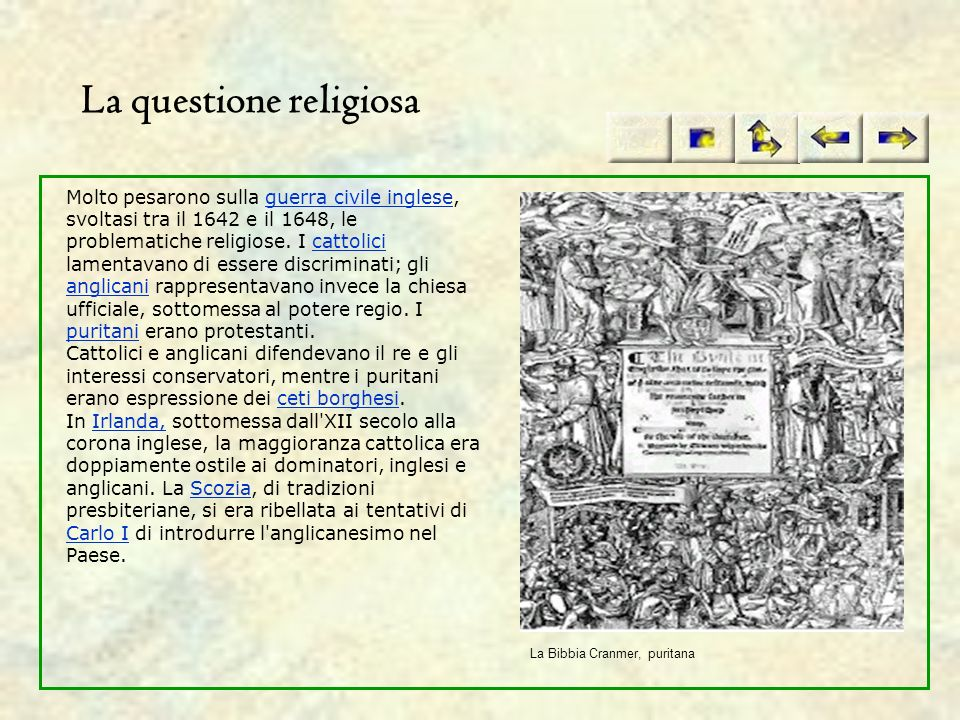 La questione religiosa