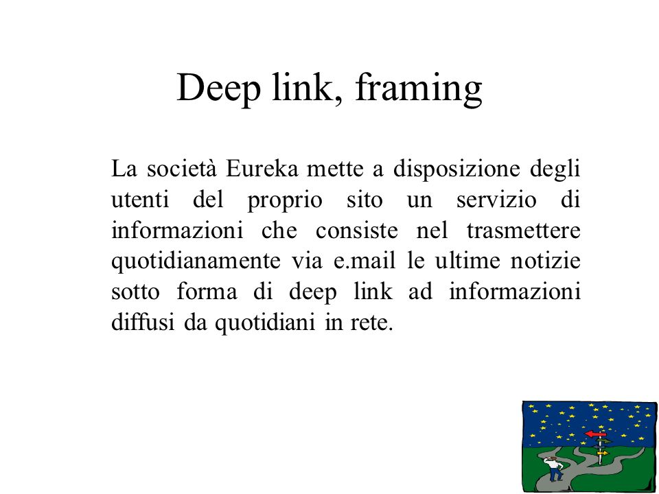 Deep link, framing