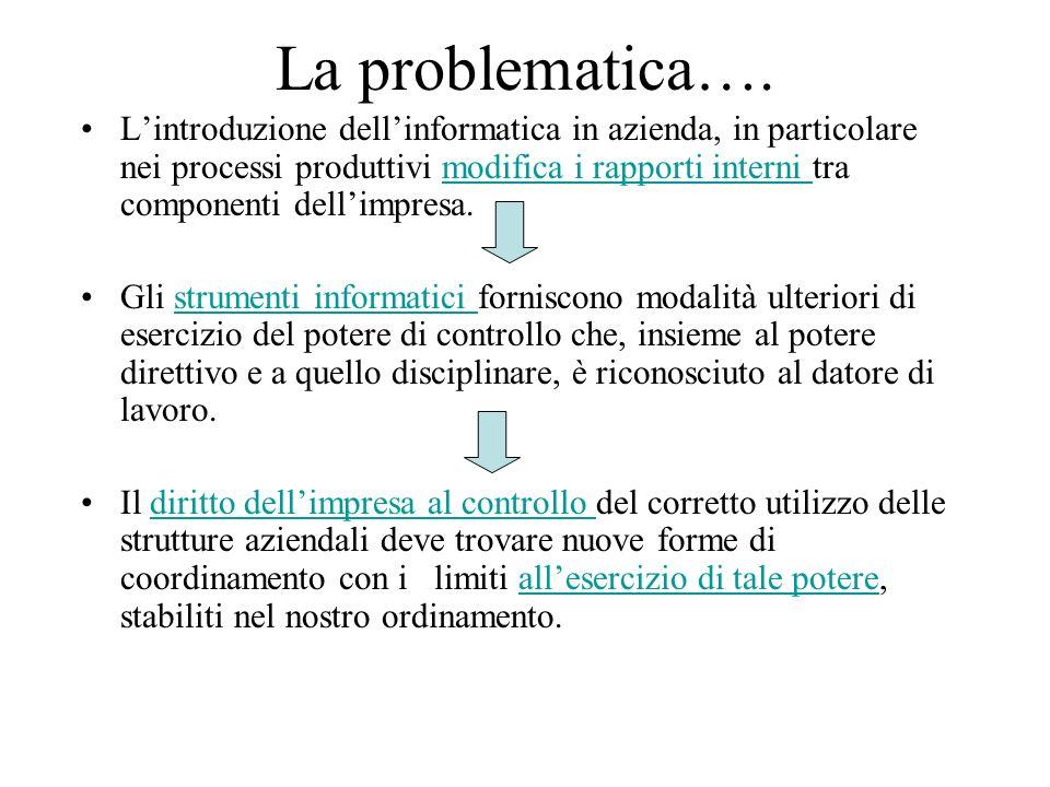 La problematica….