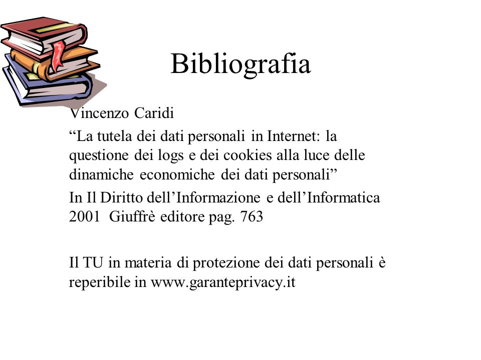 Bibliografia Vincenzo Caridi