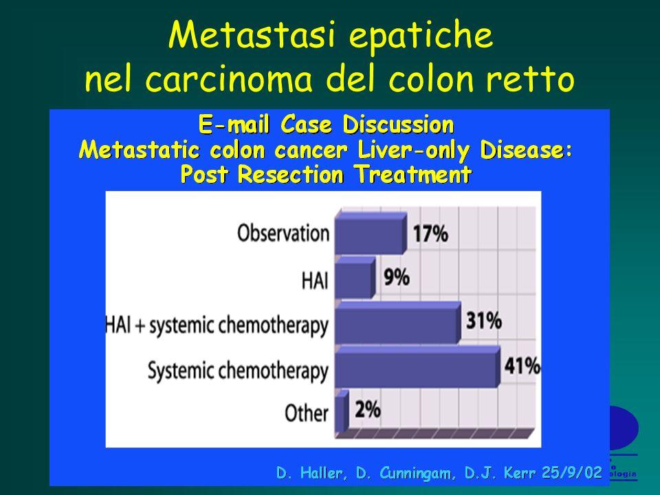 Metastasi epatiche nel carcinoma del colon retto