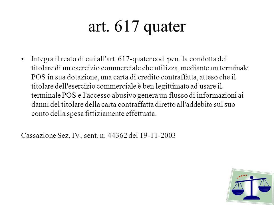 art. 617 quater