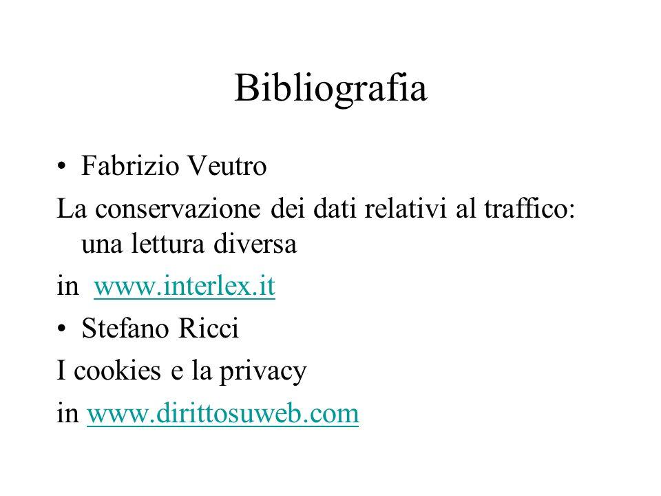 Bibliografia Fabrizio Veutro