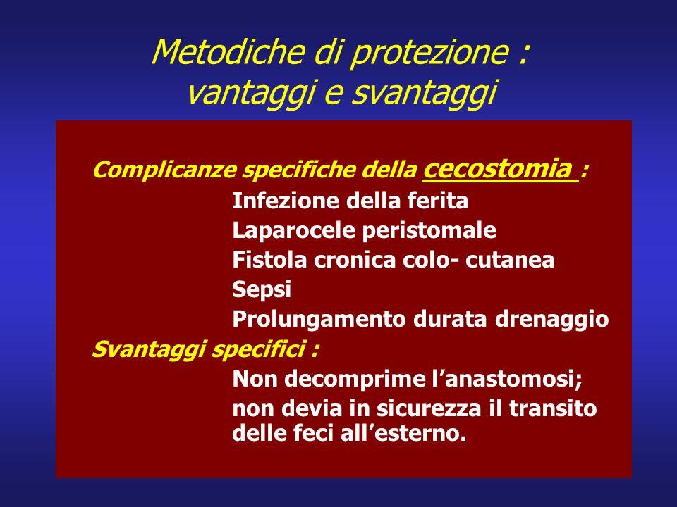 Metodiche di protezione : vantaggi e svantaggi