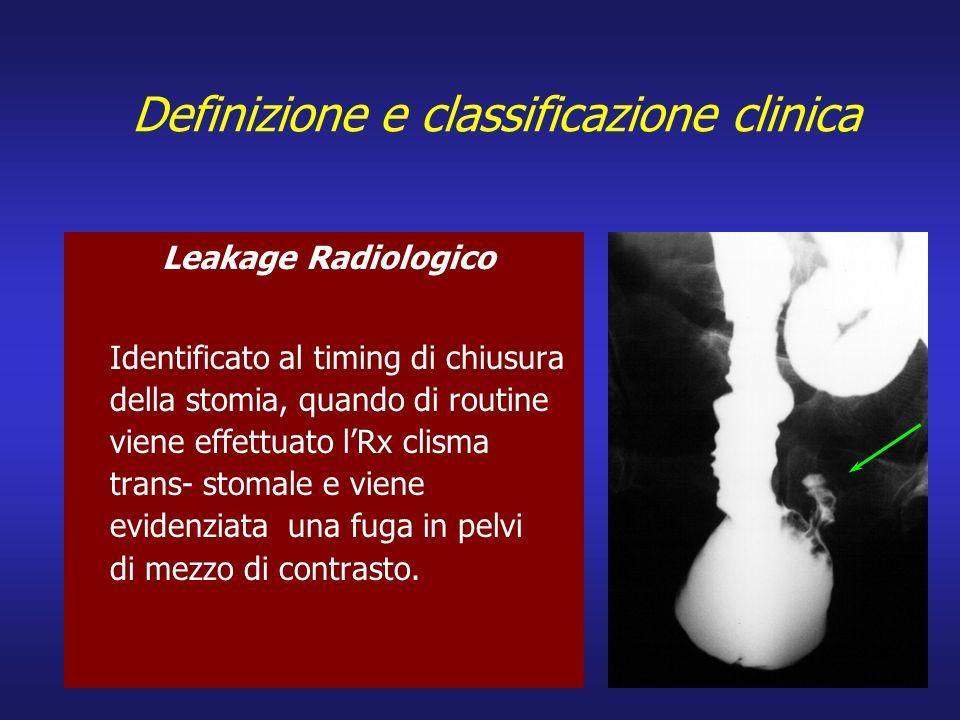 Definizione e classificazione clinica