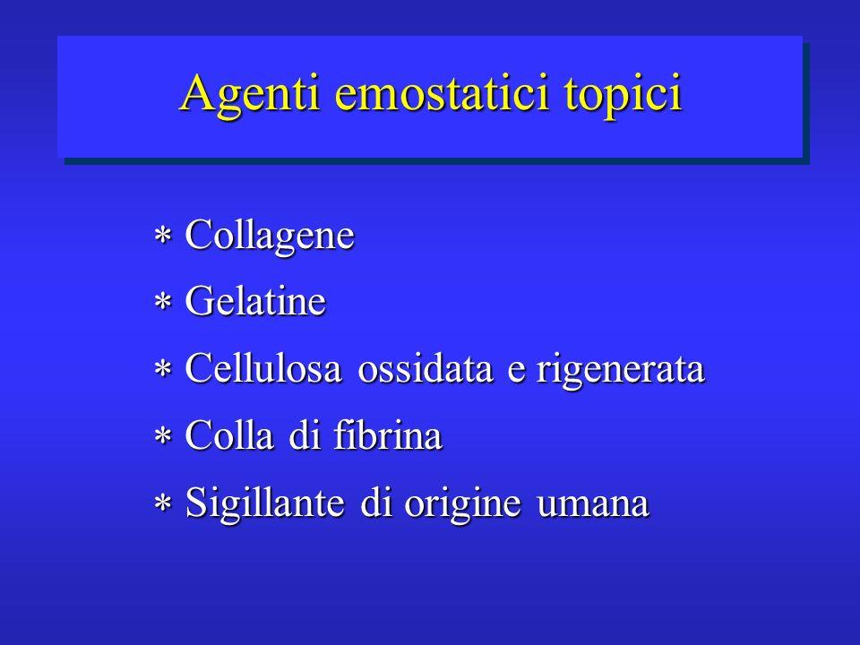 Agenti emostatici topici
