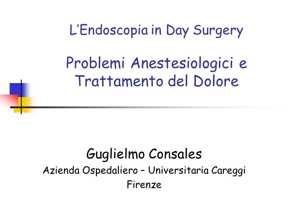 Guglielmo Consales Azienda Ospedaliero – Universitaria Careggi Firenze