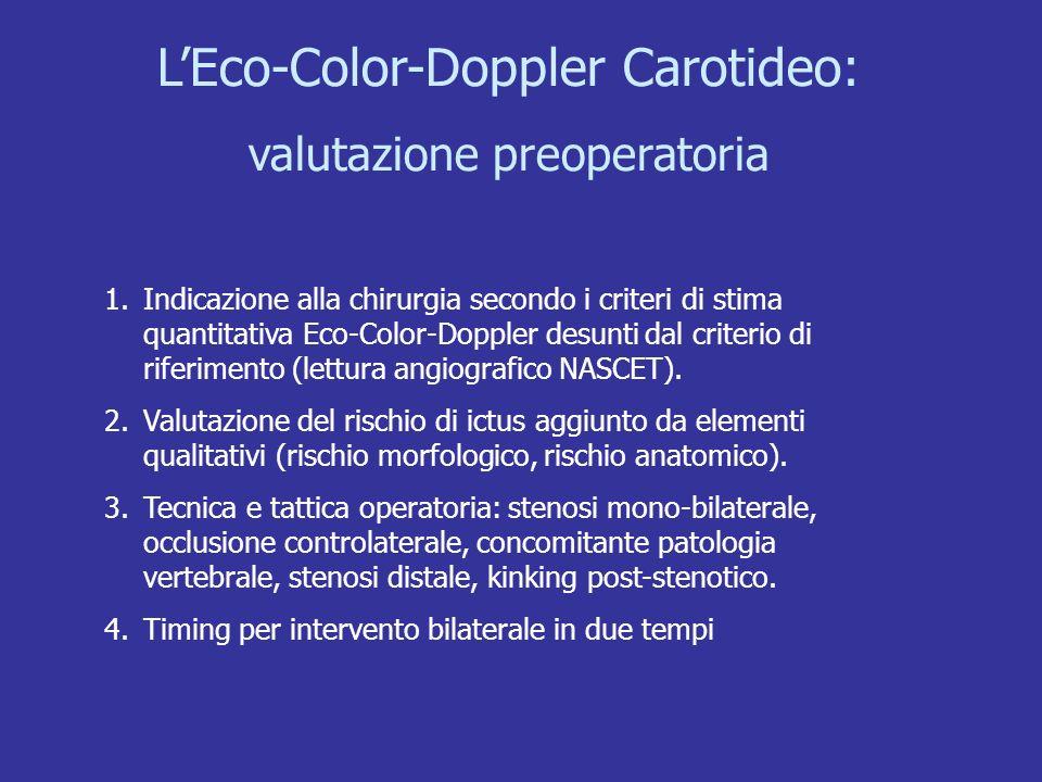 L'Eco-Color-Doppler Carotideo: