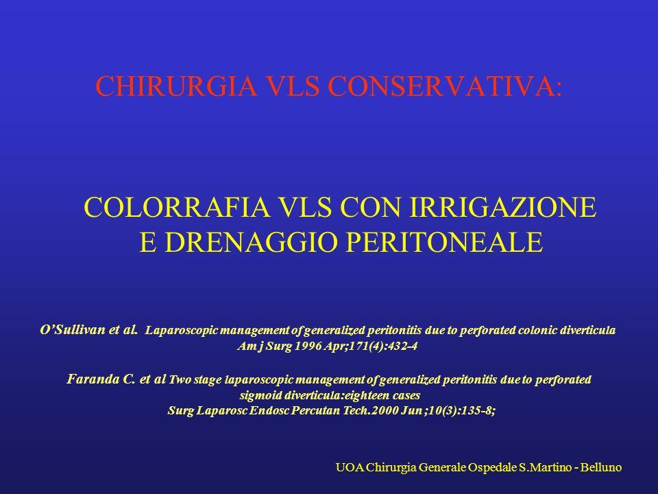 CHIRURGIA VLS CONSERVATIVA:
