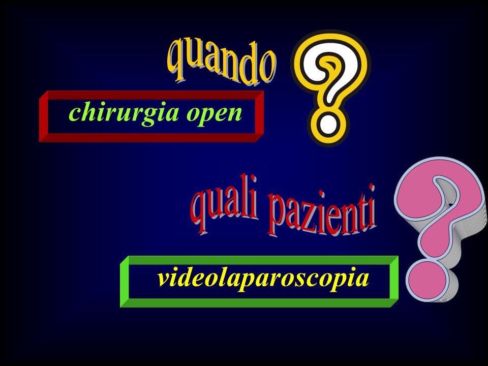 chirurgia open videolaparoscopia