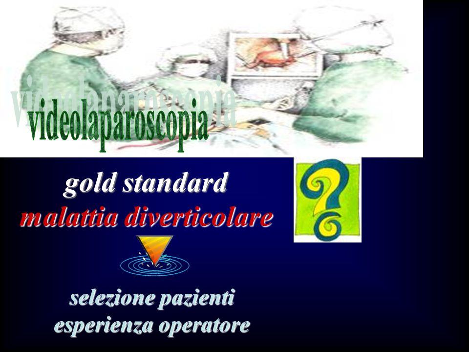 gold standard malattia diverticolare