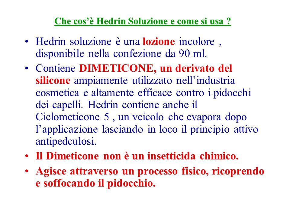 Che cos'è Hedrin Soluzione e come si usa