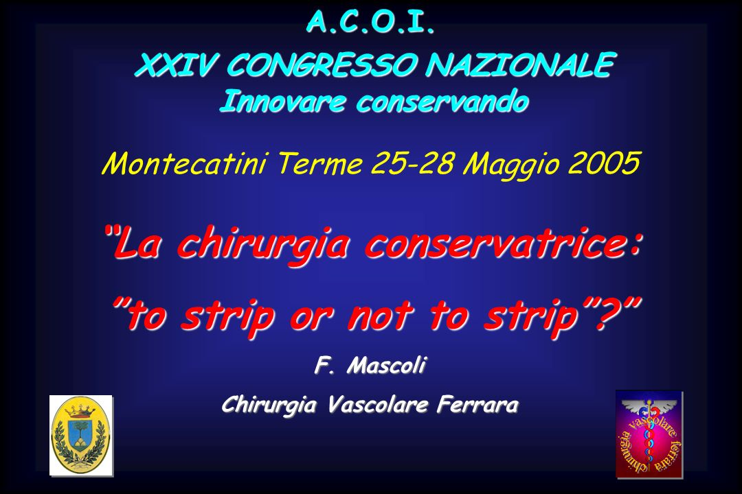 La chirurgia conservatrice: to strip or not to strip