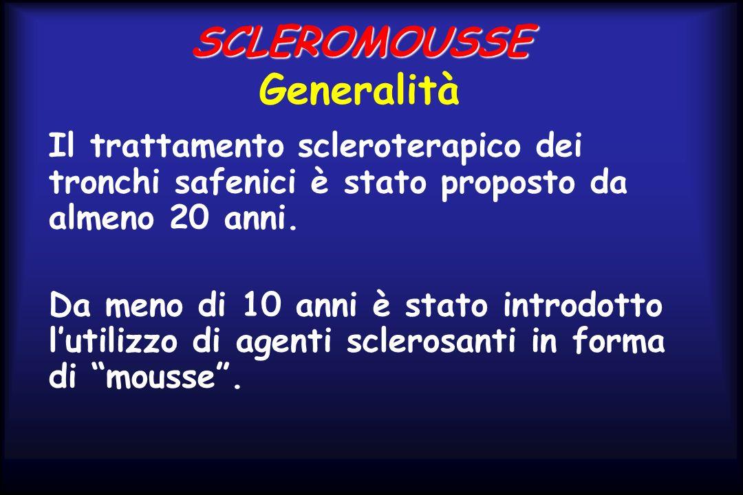 SCLEROMOUSSE Generalità