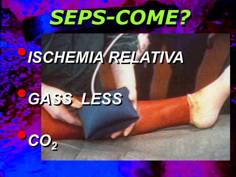 SEPS-COME ISCHEMIA RELATIVA GASS LESS CO2