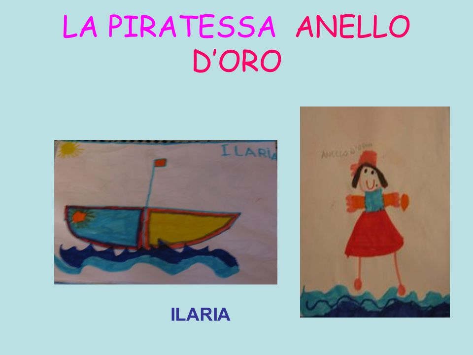 LA PIRATESSA ANELLO D'ORO