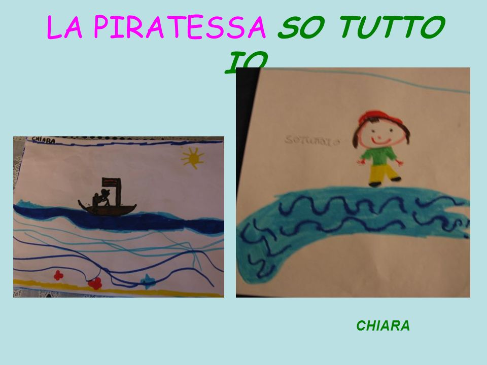 LA PIRATESSA SO TUTTO IO