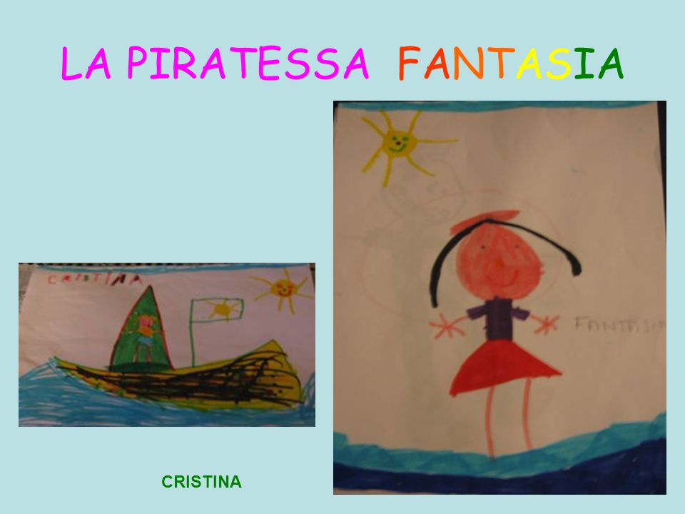 LA PIRATESSA FANTASIA CRISTINA