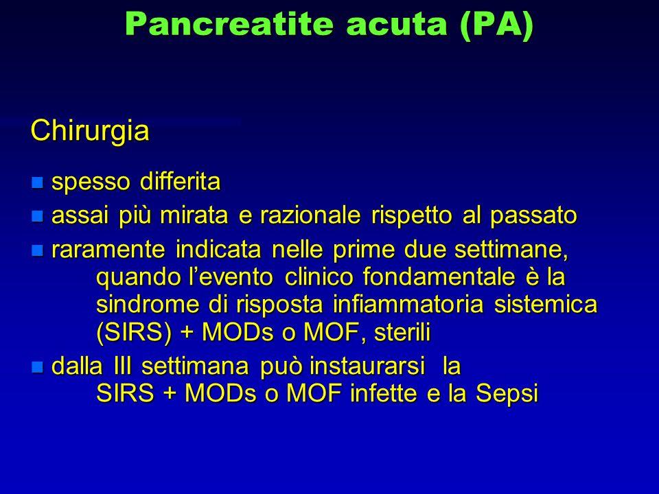 Pancreatite acuta (PA)