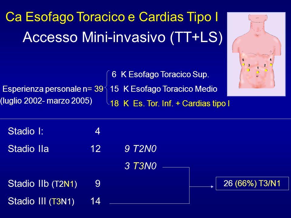 Accesso Mini-invasivo (TT+LS)