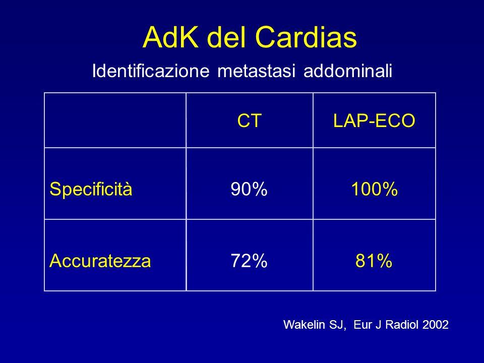 Identificazione metastasi addominali