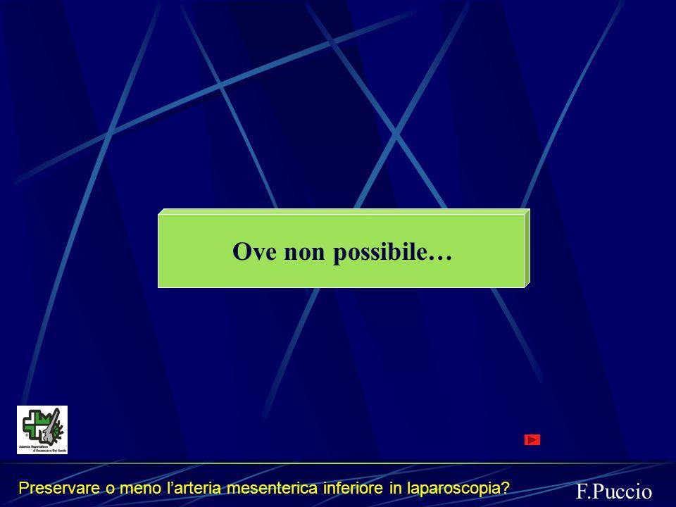 Ove non possibile… F.Puccio