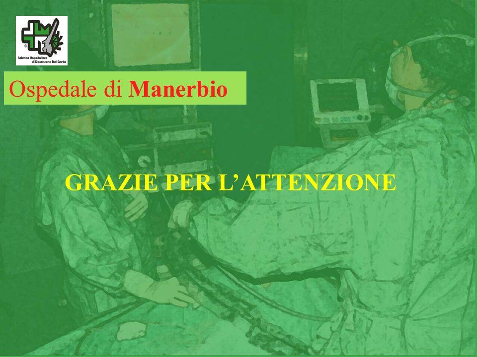 Ospedale di Manerbio GRAZIE PER L'ATTENZIONE