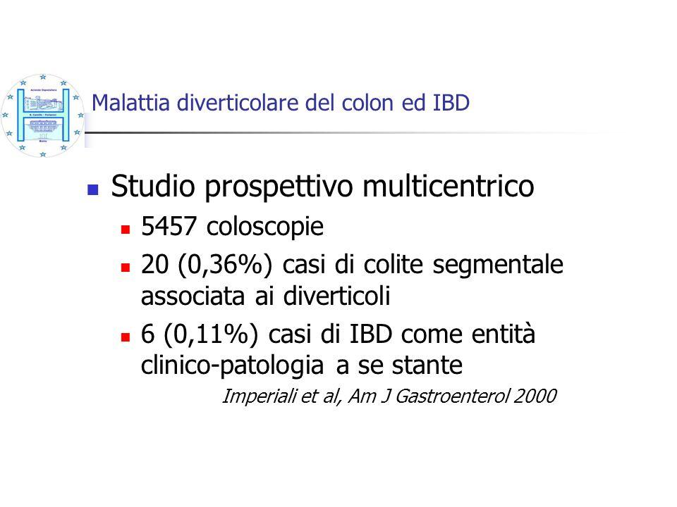 Malattia diverticolare del colon ed IBD