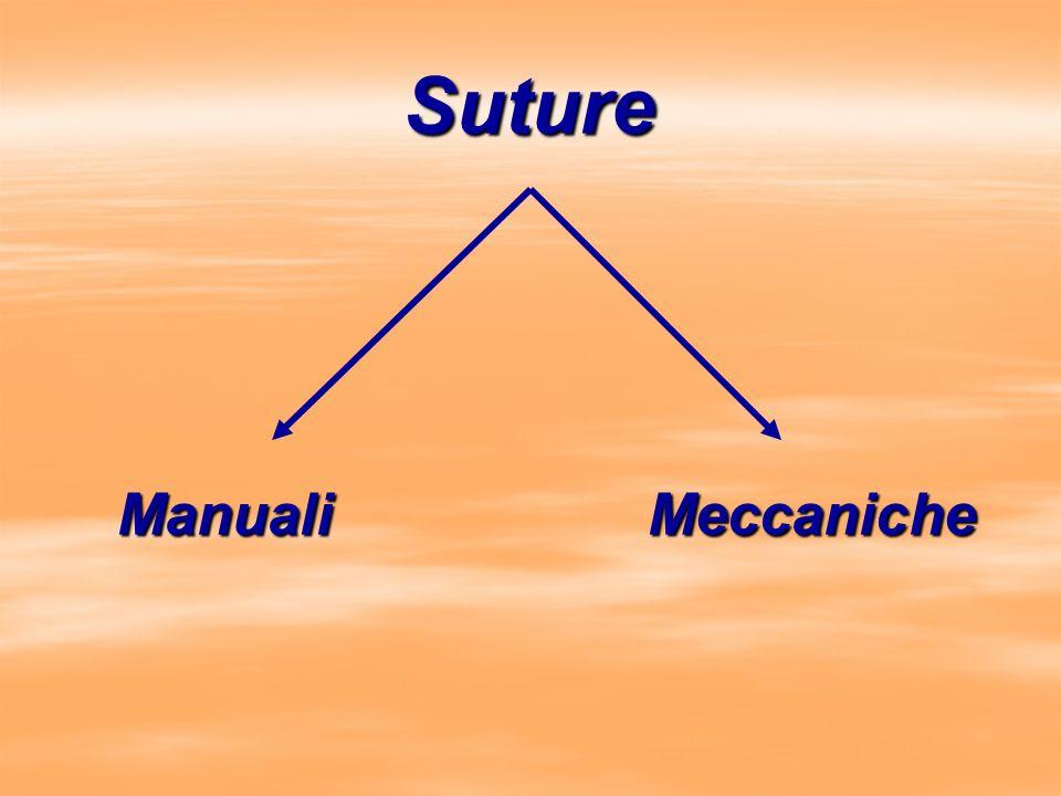 Suture Manuali Meccaniche
