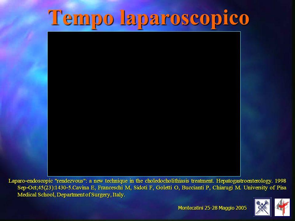 Tempo laparoscopico