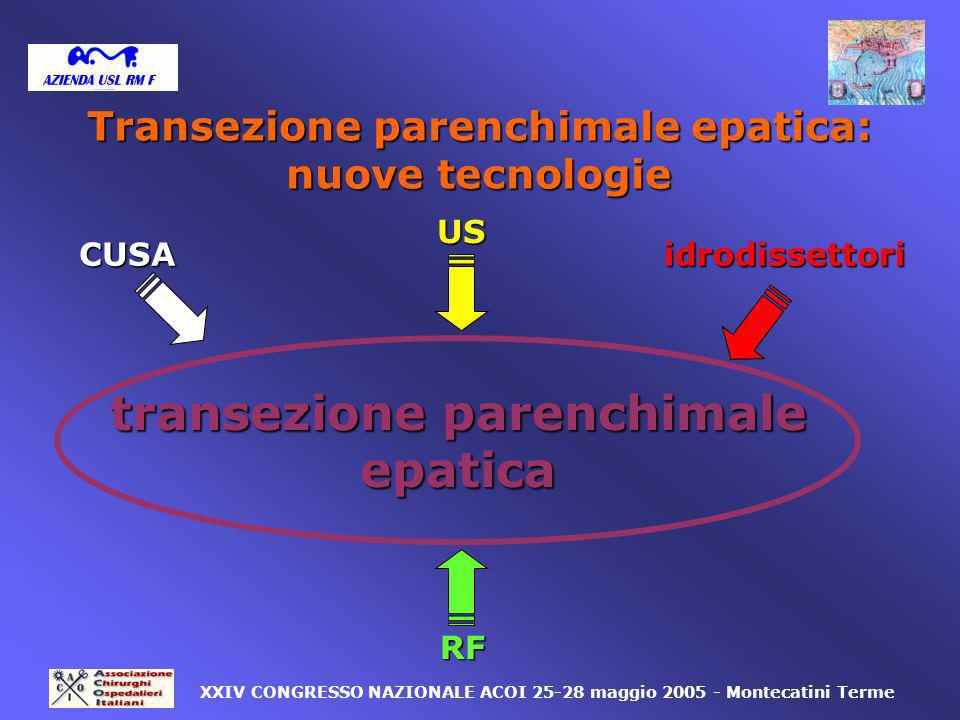 Transezione parenchimale epatica: transezione parenchimale