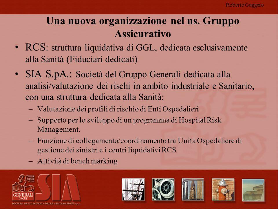 Una nuova organizzazione nel ns. Gruppo Assicurativo