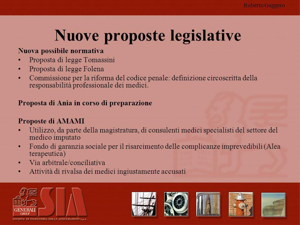 Nuove proposte legislative