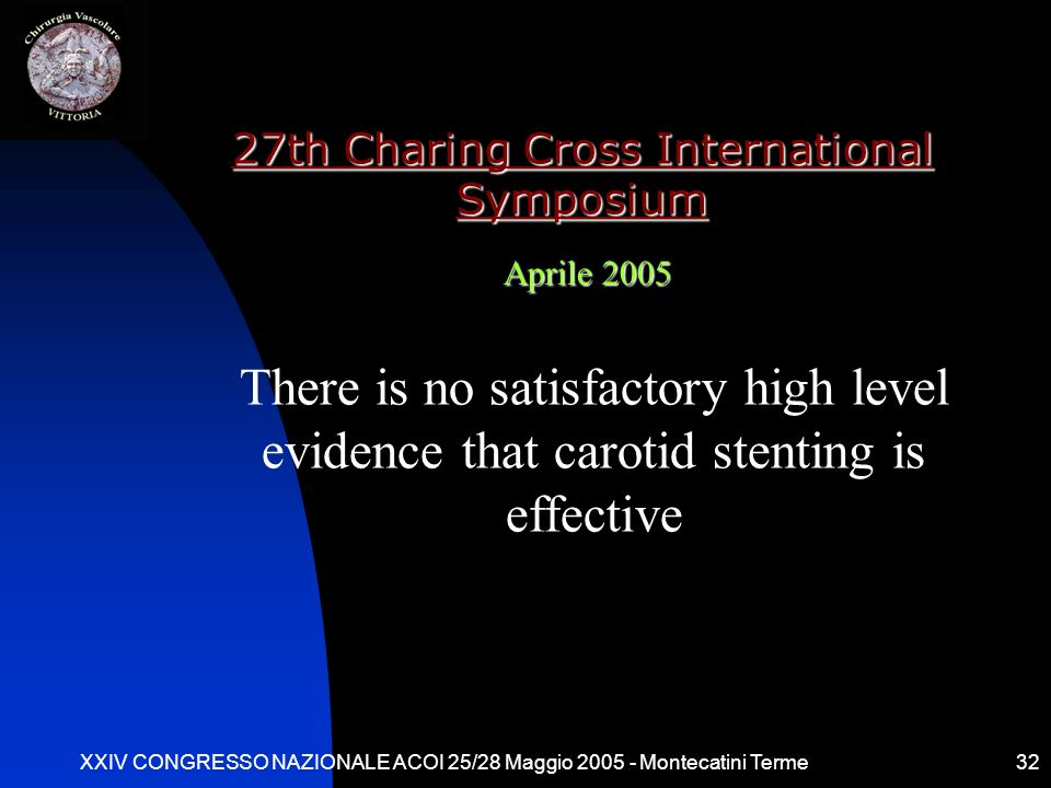 27th Charing Cross International Symposium