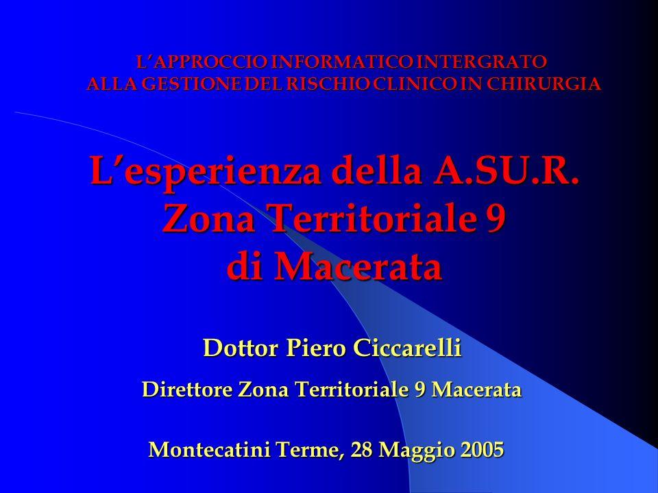 L'esperienza della A.SU.R. Zona Territoriale 9 di Macerata
