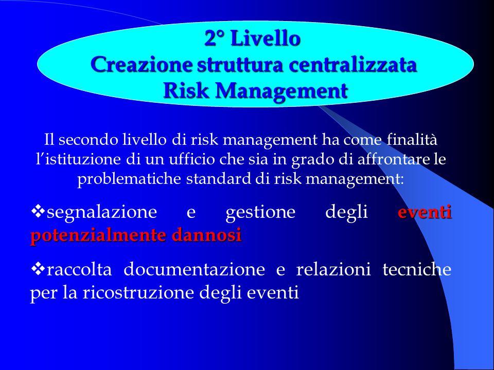 Creazione struttura centralizzata