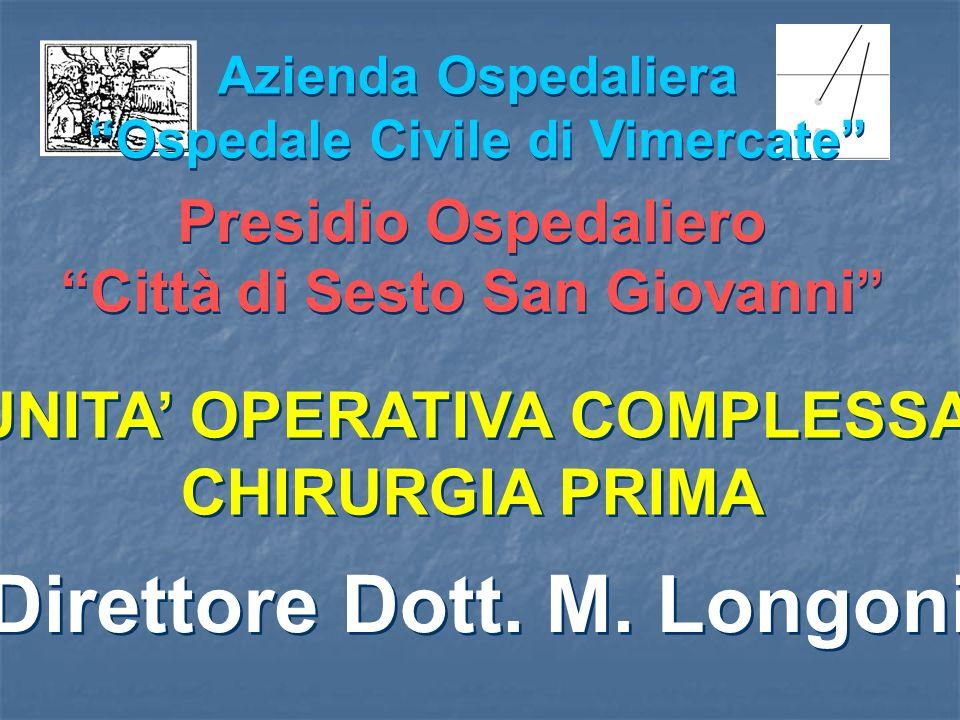 Direttore Dott. M. Longoni