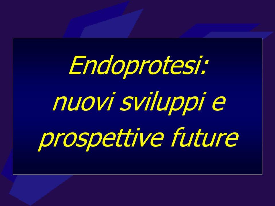 Endoprotesi: nuovi sviluppi e prospettive future
