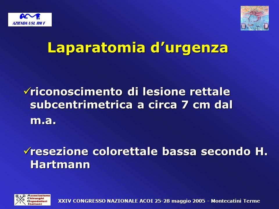 Laparatomia d'urgenza