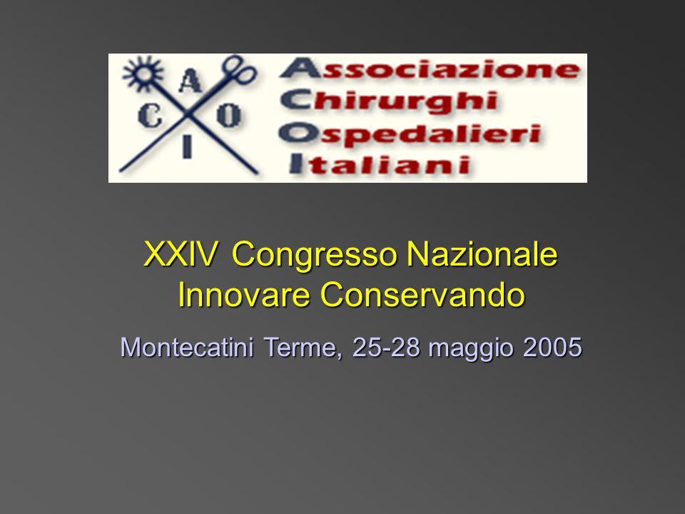 XXIV Congresso Nazionale Innovare Conservando